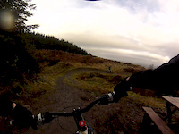 Mabie Forest, Red Route, Descender Bender Descent.