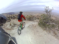 Riding sketchy death trail