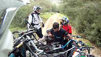 Mini downhill mountain biking in Misgav