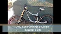 2013 Giant Glory, 2012 Kona operator at webb...