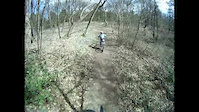 xc ride with my 7 year old daughter on local trail