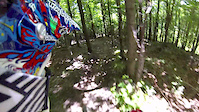 Trail n°18 at Bromont Bike Park