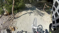 Gopro HD hero 2-Running into a tree in Mammoth...