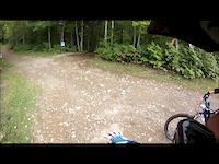 Downhilling at Sugarloaf, N.B.
