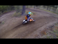 Railin' on the pitbike