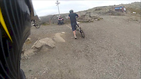 A run in Åre bikepark