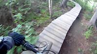 sugarloaf bike park ---- trail: ti-polo
