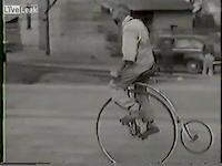 Bicycle Tricks from the 1950's