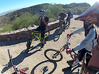 leisure ride on south mountain following Lear...