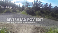 New Zealand Riverhead MTB park POV