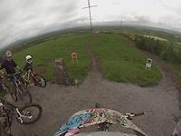Bike Park Ireland red trail.