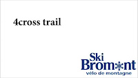 Ski Bromont- 4cross trail
