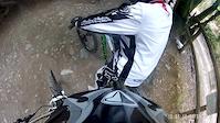 Arni 1st go on a DH bike at Gawton HSD