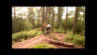 me riding the new ridge run at cannock chase...