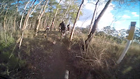 'Banga Bash' mountain bike trail @ Ironbark...