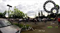 Cycle Folsom group ride with DashWare Garmin...