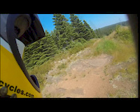 XC - DH riding on the Hydro Line