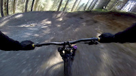 Nearly went over the bars