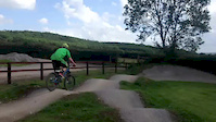 Pumptrack at Bike Park Ireland