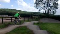 Pumptrack at Bike Park Ireland