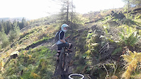 BIG CRASH!!! Grizedale Black Run