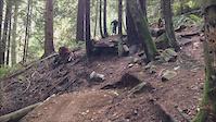 Cypress on enduro bike
