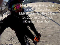 Edmonton Fatbiking by Alain