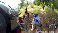 Rubber Estate Ride with Sarawakian DHer