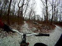 Old Balfa first snow ride of the year Gott 4