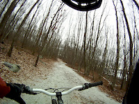 Old Balfa first snow ride of the year Gott 1