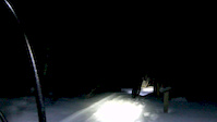 Winter night ridin