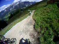 Cycle Junkies Leogang crash