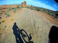 DH Biking Moab Utah