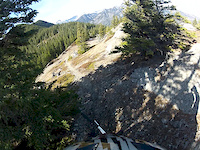Section of Razors Edge