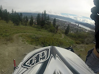 Knox Mountain Bike Park (lower half)