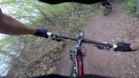 Riding the K'men Trail