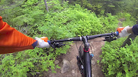 First Tunnel Vision ride of 2015 Whistler