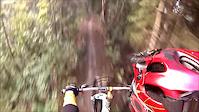 Alain Mountain Biking in Too Much Trail