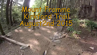 Kirkford Trail Mount Fromme North Shore