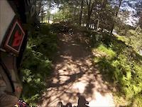 Blue Mountain Bike Park Pa (Ewok Village Crash)