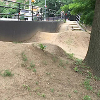 Newbie Pump Track Action