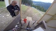 Val Di Sole World Cup practice video