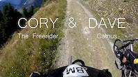 Cory the Freerider & Dave Camus VS Verbier...