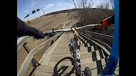 GoPro: Stairs DOwnhill Ride