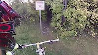Edmonton Mountain Biking: Lovers Lane Trail,...