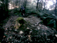 Russell crashing