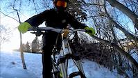GoPro: Winter Mountain Biking Jan 9, 2016