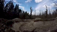 Tidworth freeride, berm gap!!!