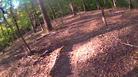 Geisha Girl jump on 286 trail