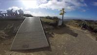 Top of Makara Peak on our way back down.